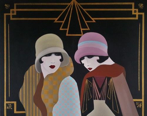 Patrycja Kruszyńska-Mikulska, Flapper girls, 2021