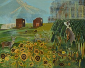 Michalina Czurakowska, Sunny Landscape, 2021