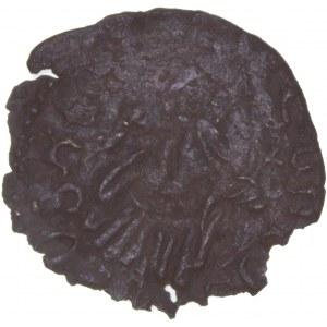 Hungary - Wladislaus I (1440-1444) Denar W-O Veszprem RR!