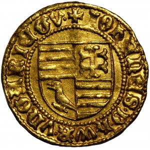 Hungary - Johann Hunyadi Goldgulden (1446-1447) Neustadt
