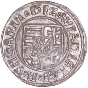 Hungary - Wladislaw II. (1490-1516) Denar 1512 K-G
