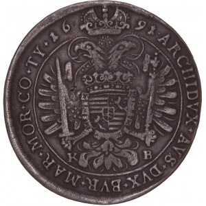 House of Habsburg - Leopold I. (1657-1705) Thaler 1691