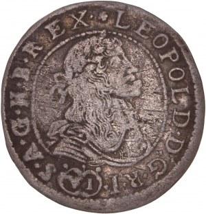 House of Habsburg - Leopold I. (1657-1705) 6 Kreuzer 1681