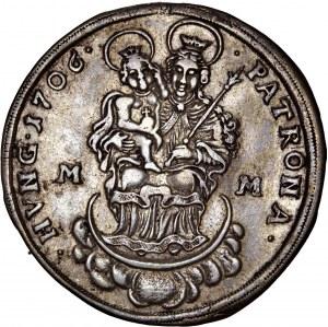 Hungary - Rakoczi War of Independence - Franz II. Rakoczi (1703-1711) ½ Thaler / Taler 1706 MM