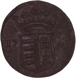 Hungary - Rakoczi War of Independence - Franz II. Rakoczi (1703-1711) X Poltura / 10 Poltura 1704