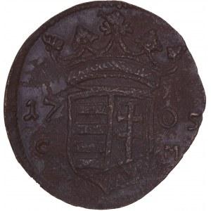 Hungary - Rakoczi War of Independence - Franz II. Rakoczi (1703-1711) X Poltura / 10 Poltura 1705 CM