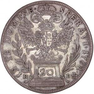 House of Habsburg - Franz I. Stefan (1745-1765) 20 Kreuzer 1764 KB