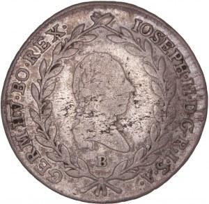 House of Habsburg - Joseph II. (1780-1790) 20 Kreuzer 1787 B