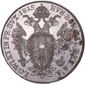 House of Habsburg - Franz I. (1792 -1835) Thaler / Taler 1815 C