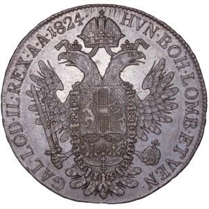 House of Habsburg - Franz I. (1792 -1835) ½ Thaler / Taler 1824 C