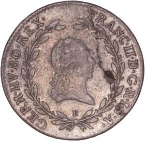 House of Habsburg - Franz I. (1792 -1835) 20 Kreuzer 1795 B