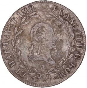 House of Habsburg - Franz I. (1792 -1835) 20 Kreuzer 1806 A