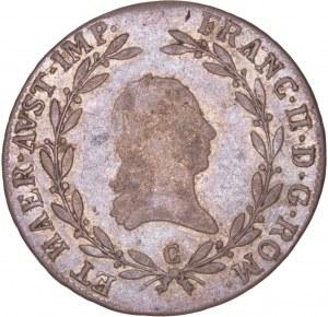 House of Habsburg - Franz I. (1792 -1835) 20 Kreuzer 1806 C Prag