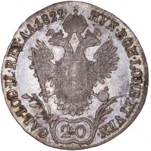 House of Habsburg - Franz I. (1792 -1835) 20 Kreuzer 1822 A