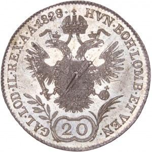 House of Habsburg - Franz I. (1792 -1835) 20 Kreuzer 1828 E