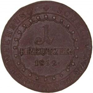 House of Habsburg - Franz I. (1792 -1835) Kreuzer 1812 B