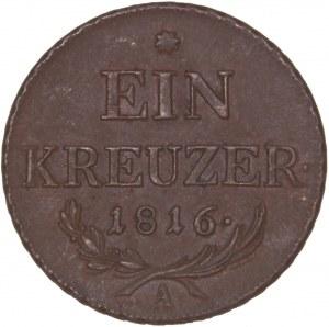 House of Habsburg - Franz I. (1792 -1835) Kreuzer 1816 A