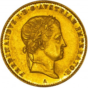 House of Habsburg - Ferdinand I. (1835-1848) Ducat / Dukat 1836 A