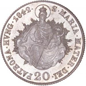 House of Habsburg - Ferdinand I. (1835-1848) 20 Kreuzer 1842 B