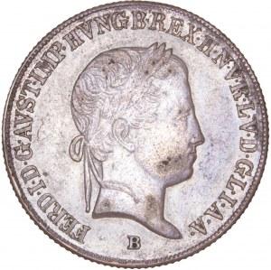 House of Habsburg - Ferdinand I. (1835-1848) 20 Kreuzer 1843 B