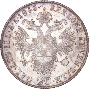 House of Habsburg - Ferdinand I. (1835-1848) 20 Kreuzer 1846 C