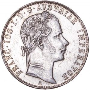 House of Habsburg - Franz Joseph I. (1848-1916) 1 Florin / Gulden 1857 A