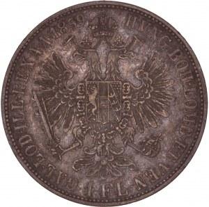 House of Habsburg - Franz Joseph I. (1848-1916) 1 Florin / Gulden 1859 B