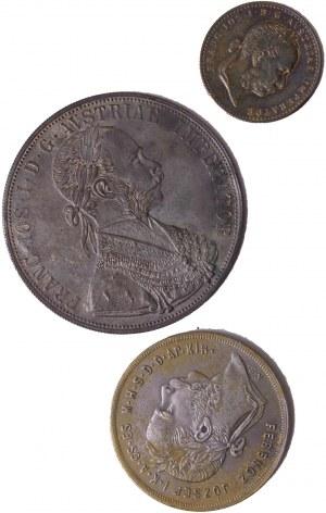 House of Habsburg - Franz Joseph I. (1848-1916) Forgeries LOT – 3 pcs