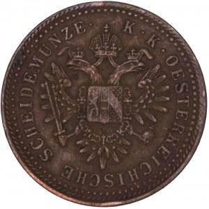 House of Habsburg - Franz Joseph I. (1848-1916) Kreuzer 1851 B