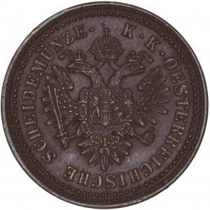 House of Habsburg - Franz Joseph I. (1848-1916) Kreuzer 1851 A