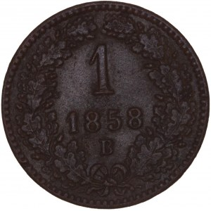 House of Habsburg - Franz Joseph I. (1848-1916) Kreuzer 1858 B
