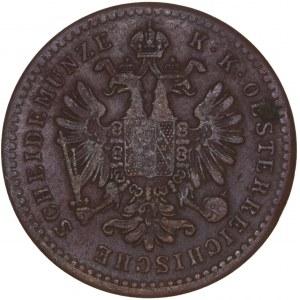House of Habsburg - Franz Joseph I. (1848-1916) Kreuzer 1859 E