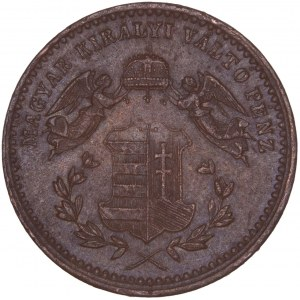 House of Habsburg - Franz Joseph I. (1848-1916) 1 Kreuzer 1868 KB