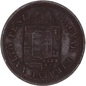 House of Habsburg - Franz Joseph I. (1848-1916) 1 Kreuzer 1885 KB