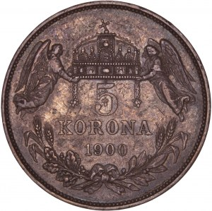House of Habsburg - Franz Joseph I. (1848-1916) 5 Korona 1900 KB