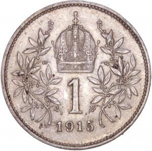 House of Habsburg - Franz Joseph I. (1848-1916) 1 Kronen 1915
