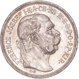 House of Habsburg - Franz Joseph I. (1848-1916) 1 Korona 1915 KB