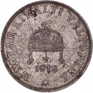 House of Habsburg - Karl I. (1916 -1918) 20 Filler 1918 KB