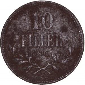 House of Habsburg - Karl I. (1916 -1918) 10 Filler 1918 KB