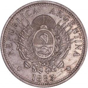 Argentina - 1883 50 Centavos
