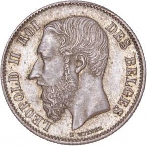 Belgium – 1899 50 Centimes