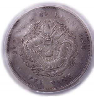 China Chihli Province - Kuang-hsü Silver Dollar Year 34 (1908)