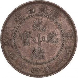 China Kwang-Tung Province - Kuang-hsü 20 Cents - 1 Mace und 4,4 Candareens