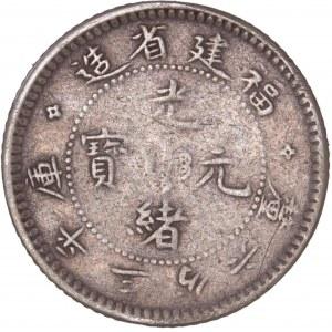China Foo-Kien Province – Guangxu – 5 Fen