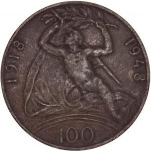 Czechoslovakia – 100 Korun 1948