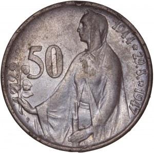Czechoslovakia – 50 Korun 1947