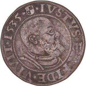 German States – Poland – Prussia – Herzog Albrecht 1535 Groscen