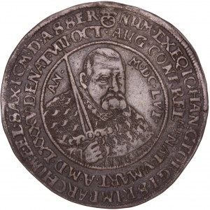 German States – Saxony - Johann Georg II Thaler / Taler 1656