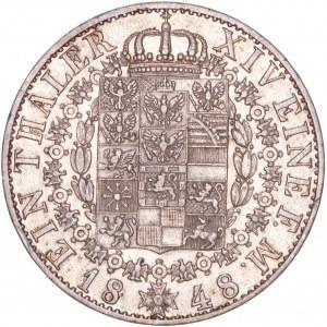 German States - Friedrich Wilhelm IV. (1840-1861) Thaler / Taler 1848