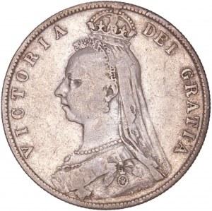 Great Britain – England - Victoria (1837-1901) Halfcrown 1889